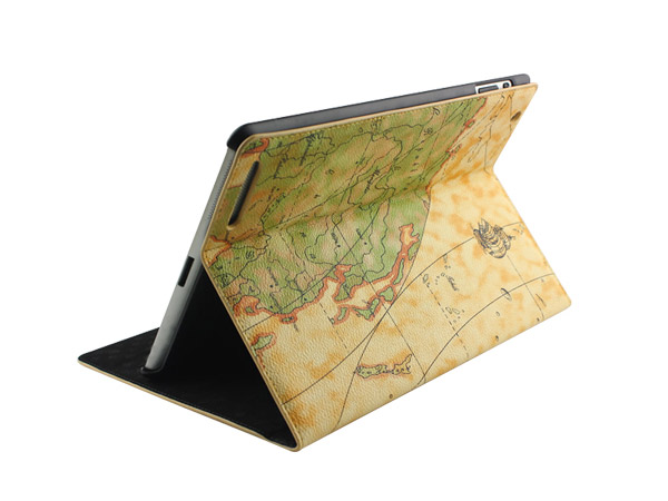Luxury PU Leather Case Smart Cover Stand for The New iPad 3 & 2